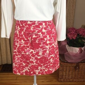 J. Crew Skirts - J. Crew 100% cotton skirt with side zipper size 6